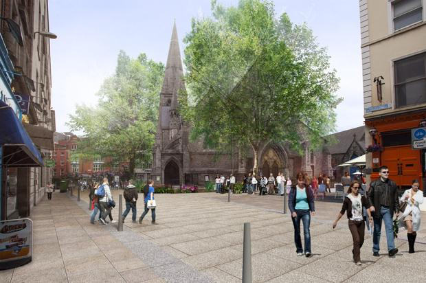 St Andrew's Church could be centrepiece of pedestrian area