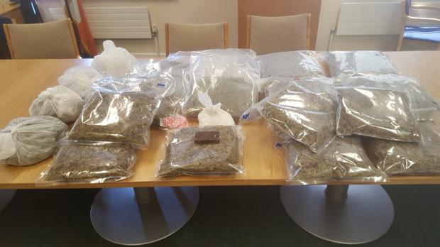 Some of the seized drugs