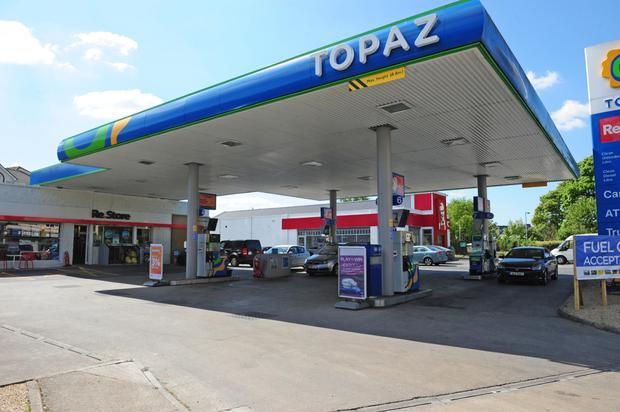 The Topaz garage in Athlone where the other was purchased. Photograph: James Flynn/APX