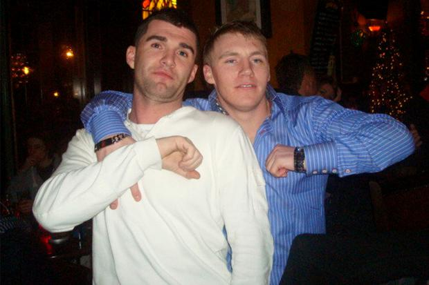 The body of Keith Ennis (left) was dismembered by Philip County (right) and and two others before being dumped
