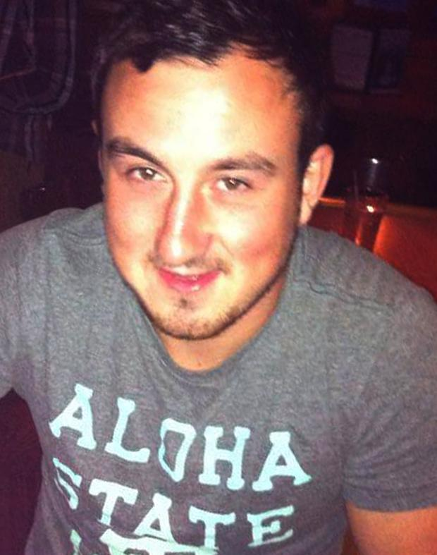 Aaron Brady (26) who was deported from the US