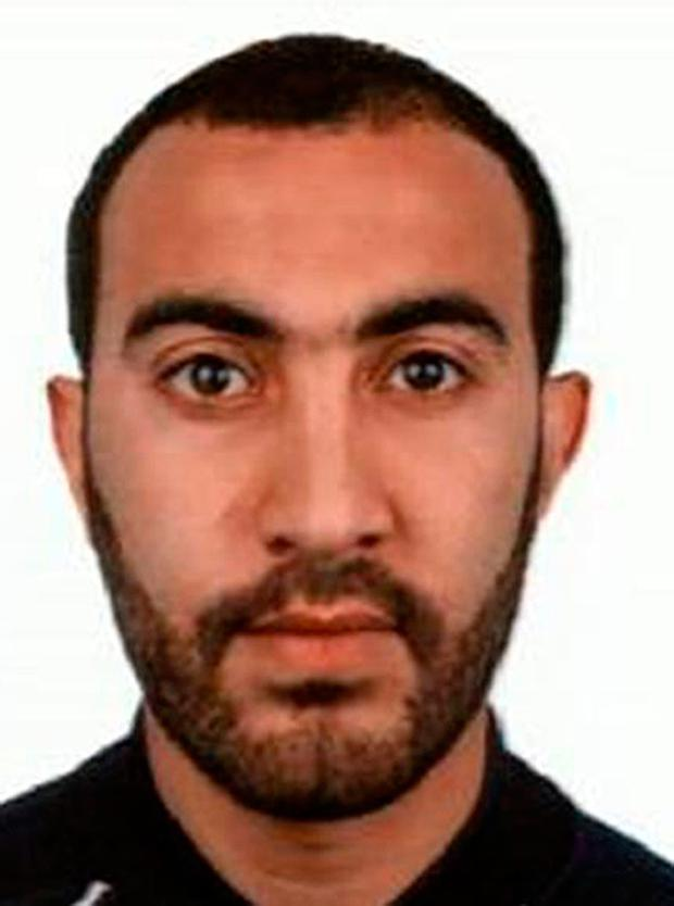 Metropolitan Police undated handout photo of Rachid Redouane who has been named as one of the men shot dead by police following the terrorist attack on London Bridge and Borough Market. Photo: Metropolitan Police /PA Wire