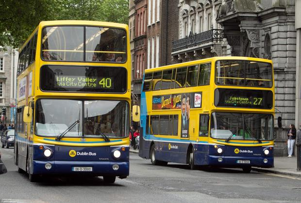 The main radial bus corridors through the city centre would run between fixed terminuses, for example Dublin Airport to Rathgar, or Crumlin to Artane