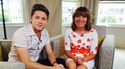 Niall Horan and Lorraine