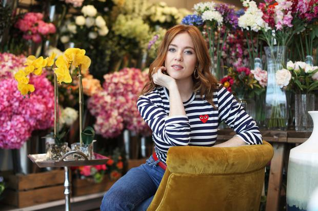 TV and radio presenter, Angela Scanlon who officially opened the new Homesense store in Blanchardstown, Dublin. Picture credit/Julien Behal