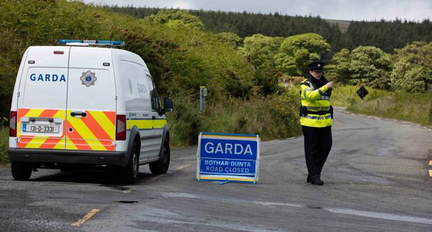 Human remains have been found in the Wicklow Mountains