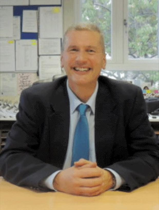 School principal Padraic Carney who died in a cycling accident while riding to St Louis Senior Primary School on Monday morning