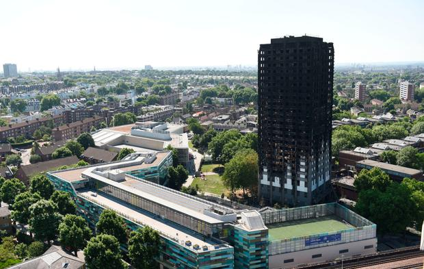 Grenfell tower. Photo: PA