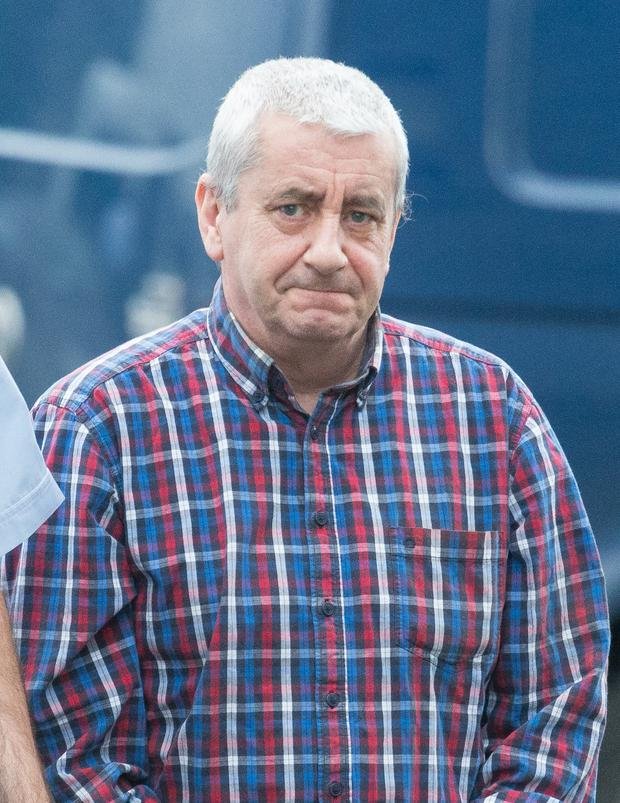 Ciaran Colgan, pictured at Ennis Court, abused the victim on three occasions
