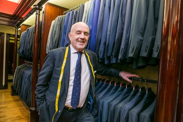 Louis Copeland pictured at his Tailor Shop in Dublin's Capel St