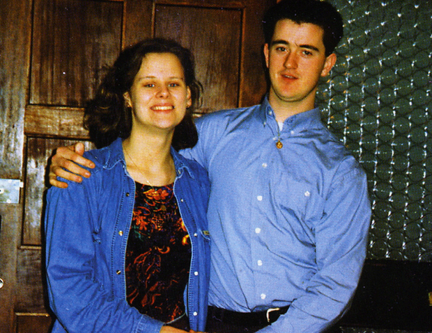 Rachel with Joe O'Reilly, who is serving life for her murder