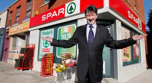 Tom Hopkins ( Christy) ; who plays the owner of the new Phelan's SPAR Shop