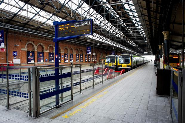 Man with gun arrested at Connolly station