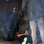Undercover gardai pin a suspect to the ground at Connolly Station