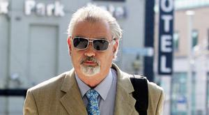 Ian Bailey leaving Court in Dublin. Photo: Collins Courts