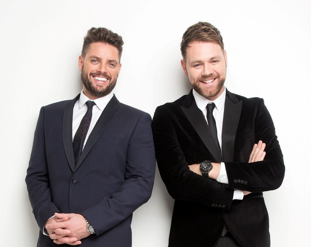 Keith Duffy and Brian McFadden recently toured with a string of Boyzlife concerts.