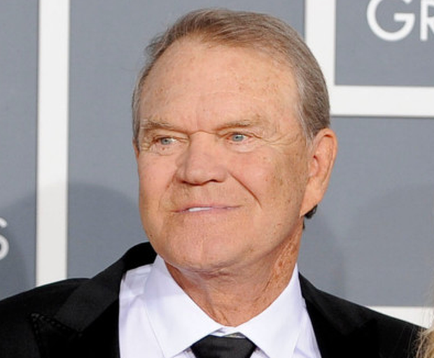 Glen Campbell at the 54th annual Grammy Awards in Los Angeles