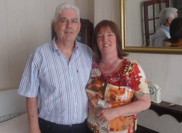 Pat and Ann Kerley who were attacked by a swarm of bees in Co Louth