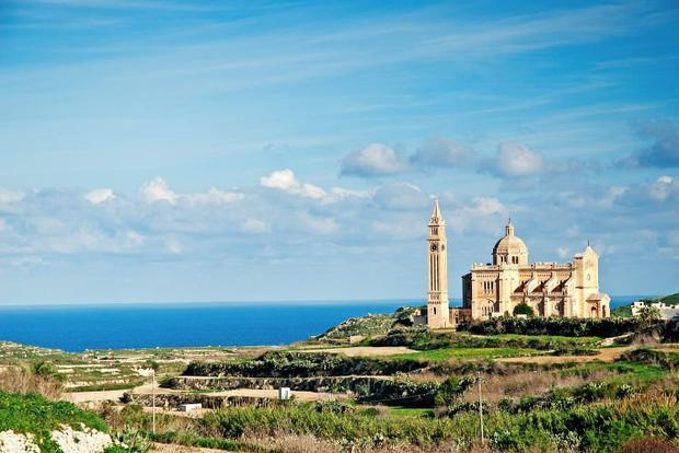 Gozo is renowned for scenery