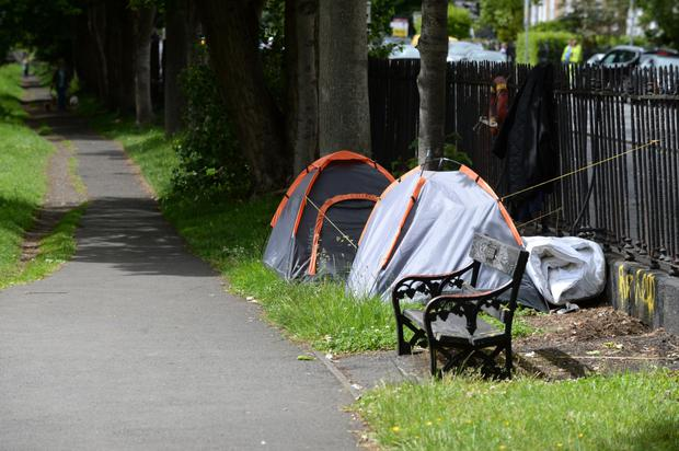 The majority – 102 out of 123 – of Ireland's rough sleepers are in the capital