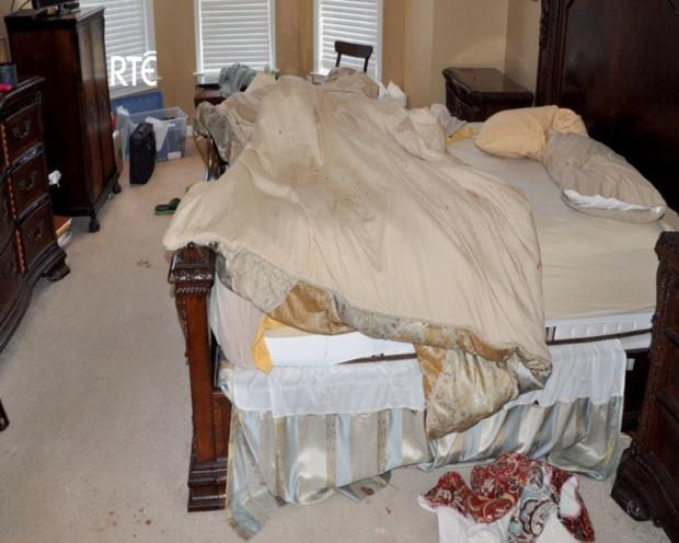Crime scene photos from Jason Corbett's home in Panther Creek