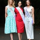 Dublin Rose Maria Coughlan, Mayo Rose Sandra Ganley, and Armagh Rose Nicole McKeown