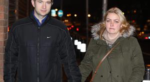 Shane and Antoinette Aodhan O'Faolain O'Reilly have been living in rented accommodation for seven years after being advised to leave their home. Photo: Collins