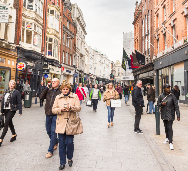 Grafton Street (p) and Henry Street could be targets