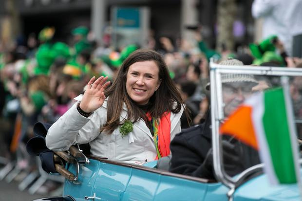 Annalise Murphy on St Patrick's Day
