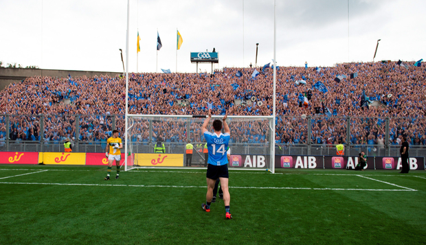 Fans said their view was obstructed by the 'weathered' screen. Photo: SPORTSFILE