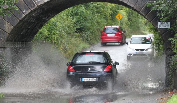 Some parts of the country saw flash flooding last month. Photo: Collins