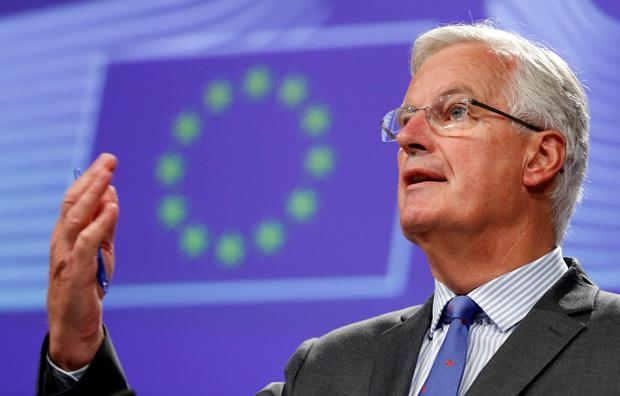 EU negotiator Michel Barnier wants to avoid a hard Border
