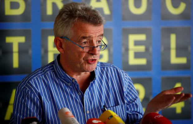Airline chief Michael O'Leary is facing passenger fury Pic: Reuters
