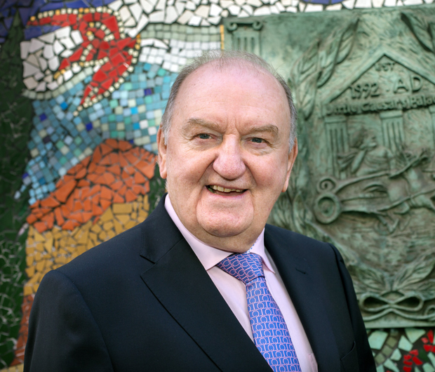 Controversial radio presenter George Hook is suspended