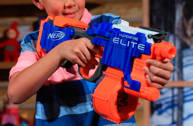 Nerf guns can cause serious eye injuries and internal bleeding, doctors warn