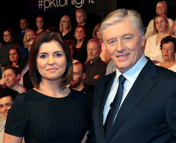 Colette Fitzpatrick co-hosted with Pat Kenny last year, but her name did not feature in the show's title
