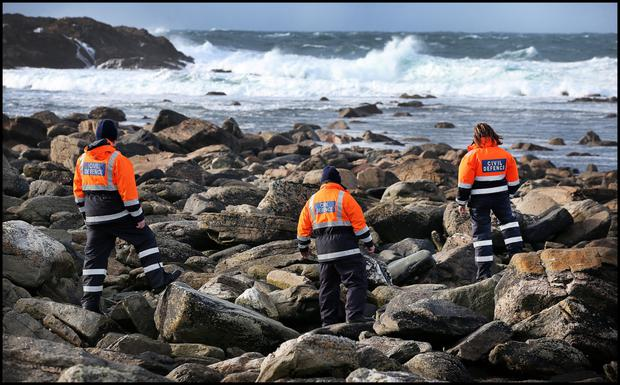 Civil Defence personnel and volunteers have searched the coast every day since the tragedy