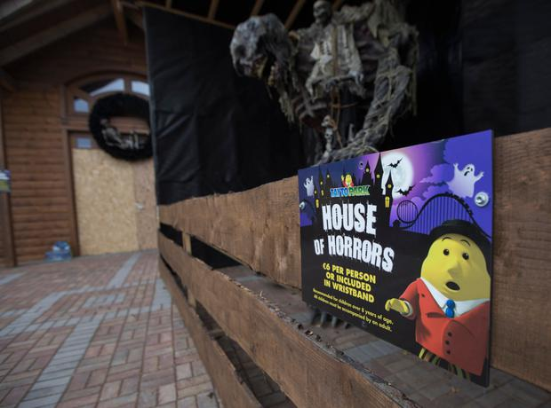 The House of Horrors was closed after last year's incident