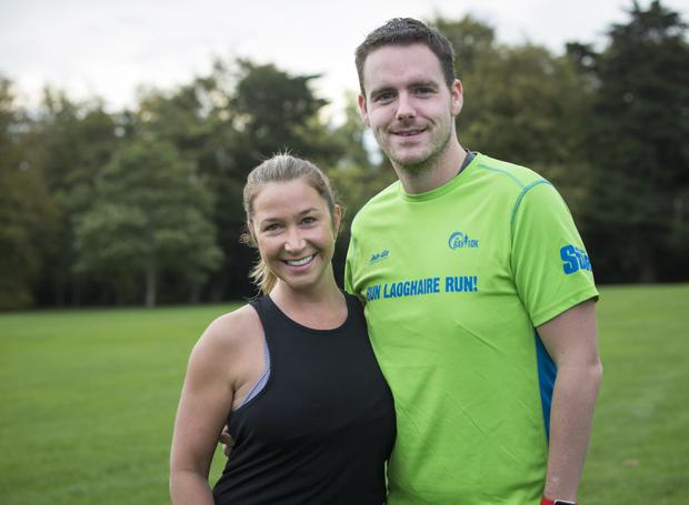 Tara Jean, visiting from Canada, joined her friend Gavin Hughes at the event. Photo: Fergal Phillips