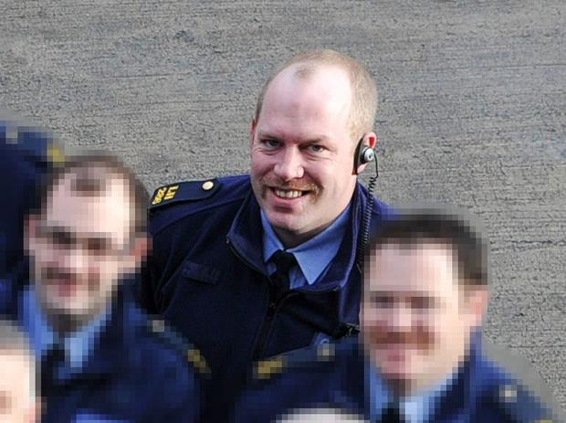 Garda Tony Golden