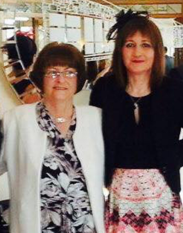 Mary Ann and Marcella Wilson, who died in Mayo last month