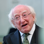Michael D Higgins Photo: Reuters