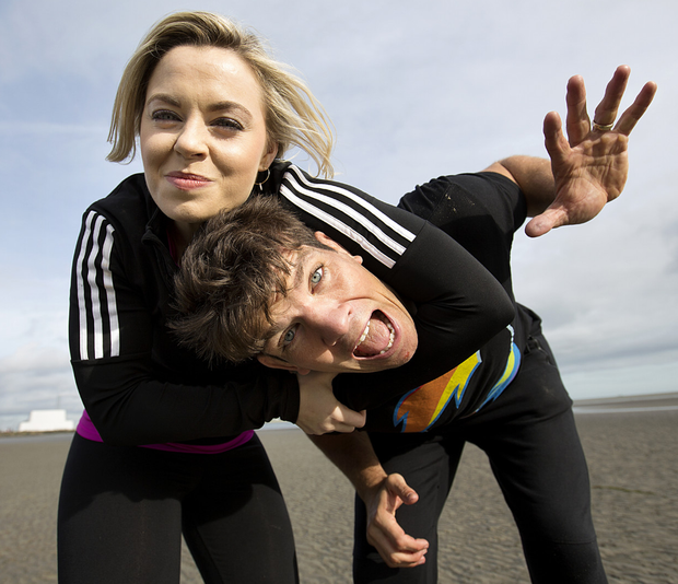 Ireland's Fittest Family stars Anna Geary and Donncha O'Callaghan