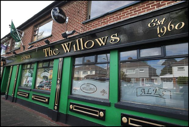 The Willows was targeted by armed raiders in May