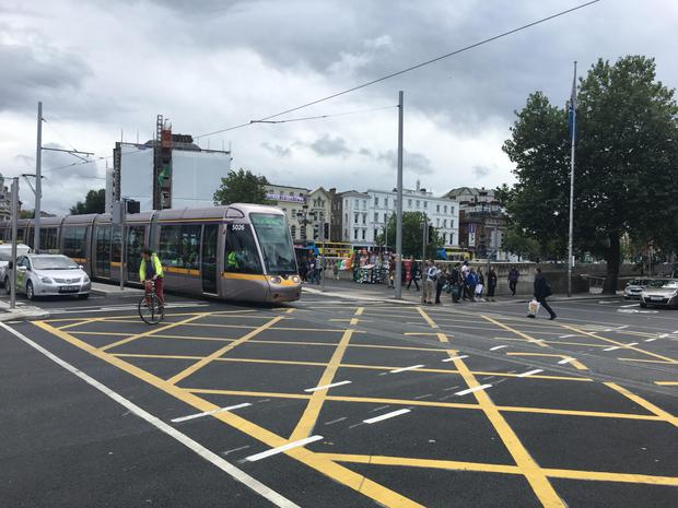 Luas Cross City is imminent