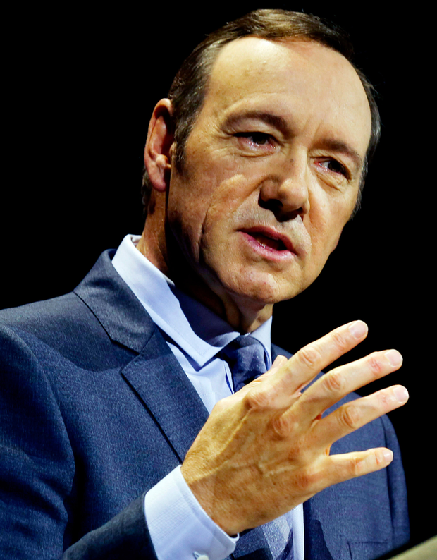 Kevin Spacey's latest film pulled from Hollywood festival