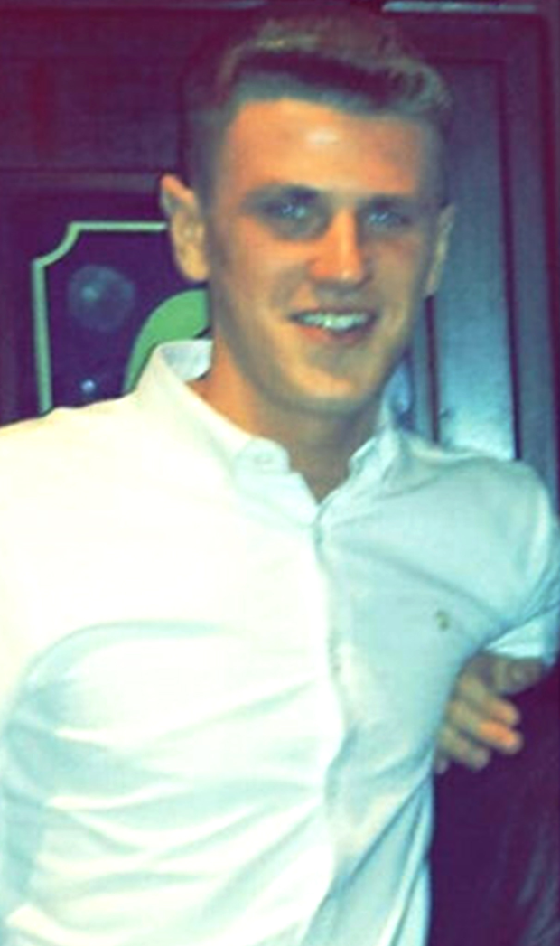 Tragic Luke O'Reilly died on Monday after being attacked in the early hours of November 1
