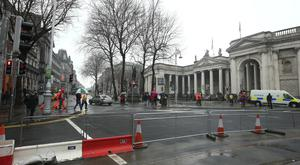 A ban on taxis using College Green is being considered
