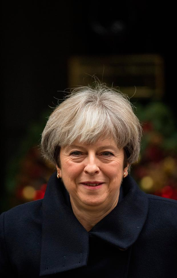 British Prime Minister Theresa May is due in Brussels today