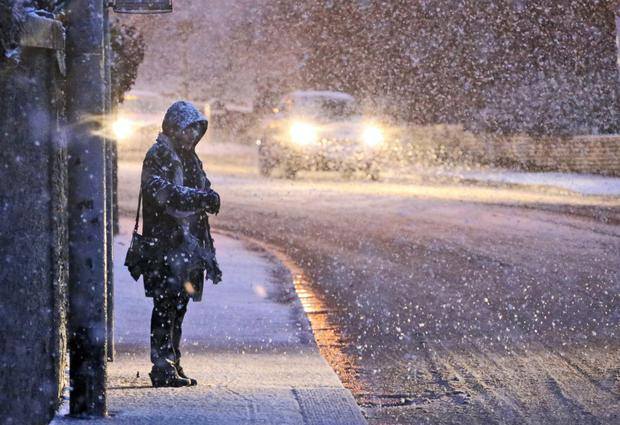 Dublin will shiver as temperatures drop